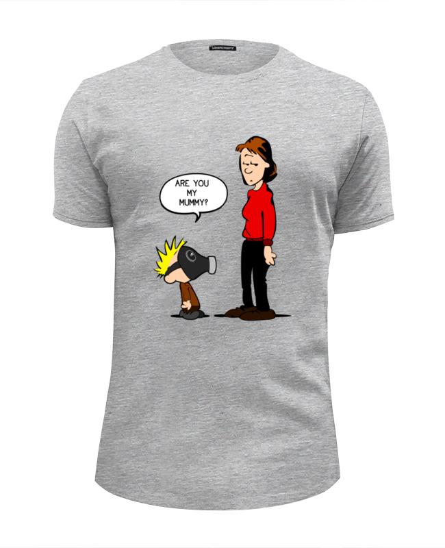 Футболка Wearcraft Premium Slim Fit Printio Ты моя мамочка? футболка wearcraft premium slim fit printio you are my person