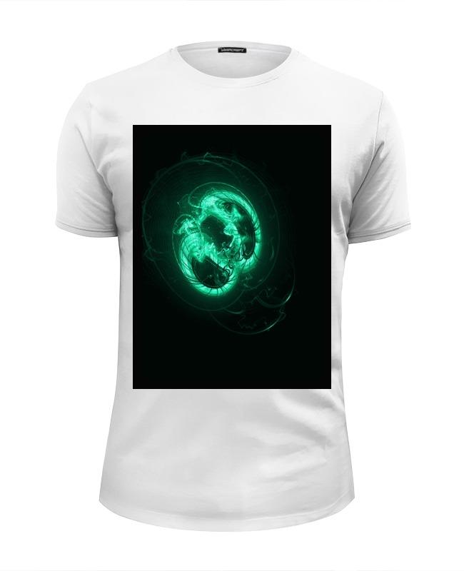 Футболка Wearcraft Premium Slim Fit Printio Флюропришелец футболка wearcraft premium printio пришельцы