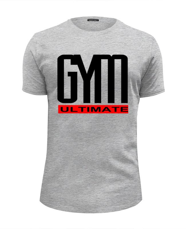 Футболка Wearcraft Premium Slim Fit Printio Gym ultimate футболка wearcraft premium slim fit printio gym this is my world page 8 page 5 page 4