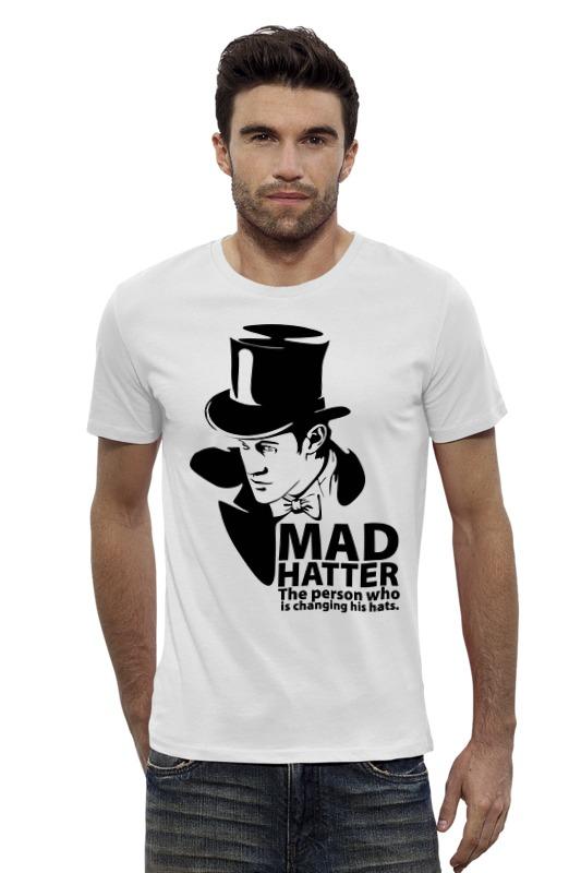 Футболка Wearcraft Premium Slim Fit Printio Mad hatter (doctor who) футболка рингер printio доктор кто doctor who