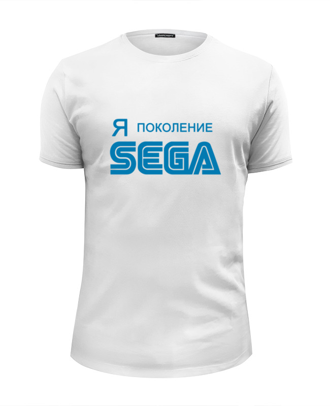 Футболка Wearcraft Premium Slim Fit Printio Я-sega лонгслив printio я sega