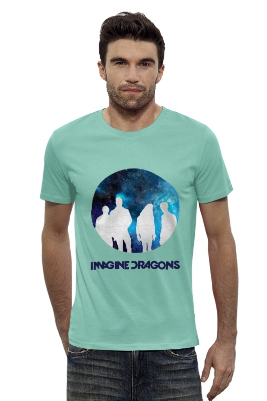 Футболка Wearcraft Premium Slim Fit Printio Imagine dragons imagine dragons imagine dragons night visions