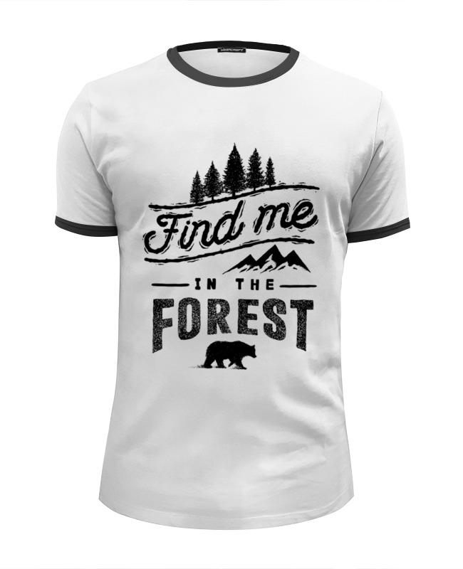 Футболка Wearcraft Premium Slim Fit Printio Медведь футболка рингер printio медведь солдат