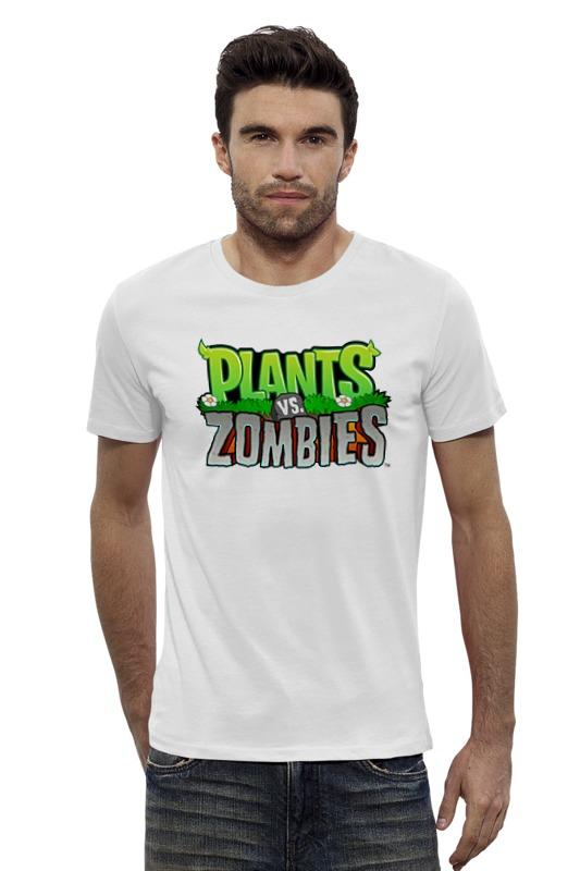 Футболка Wearcraft Premium Slim Fit Printio Plants vs. zombies мягкая игрушка plants vs zombies котенок на присоске 15 см
