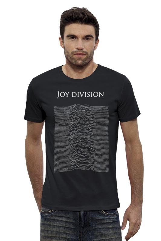 Футболка Wearcraft Premium Slim Fit Printio Joy division толстовка wearcraft premium унисекс printio joy division