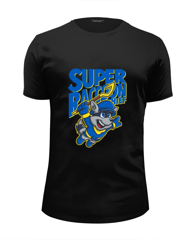 Футболка Wearcraft Premium Slim Fit Printio Енот (sly cooper)