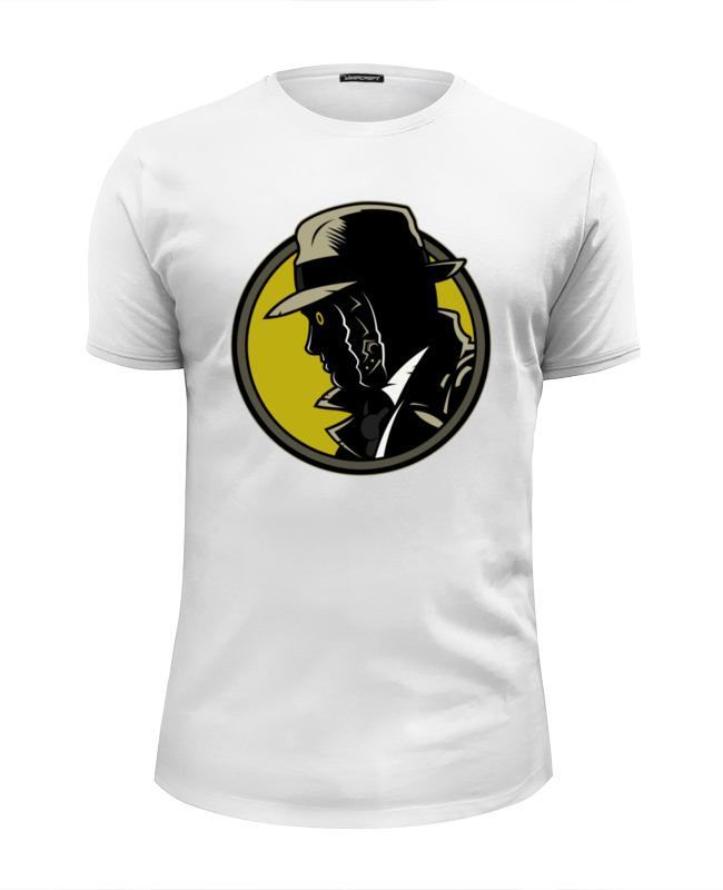 Футболка Wearcraft Premium Slim Fit Printio Дик трэйси футболка wearcraft premium printio дик трэйси