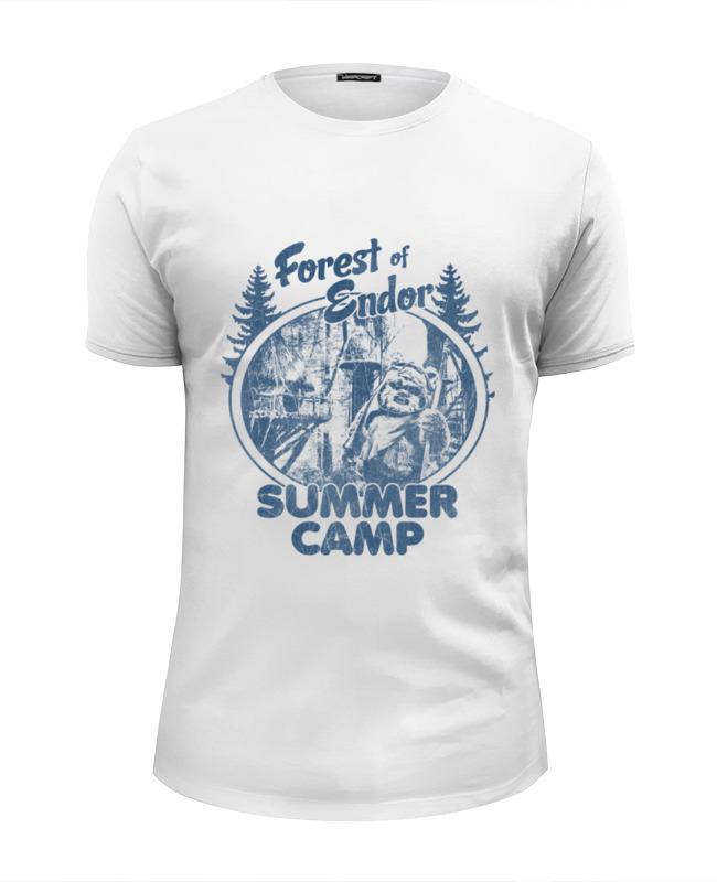 Футболка Wearcraft Premium Slim Fit Printio Лес эндора футболка wearcraft premium printio изабель приходи в лес животных