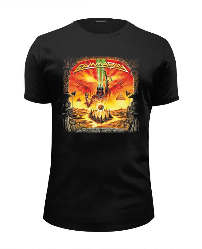 Футболка Wearcraft Premium Slim Fit Printio Gammaray band футболка wearcraft premium slim fit printio hirax band