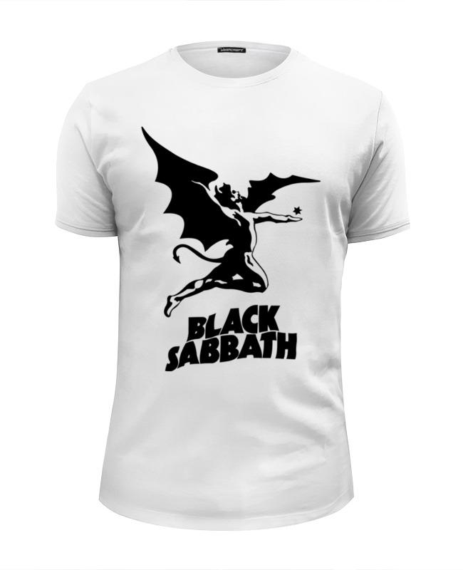 Футболка Wearcraft Premium Slim Fit Printio Black sabbath цена и фото