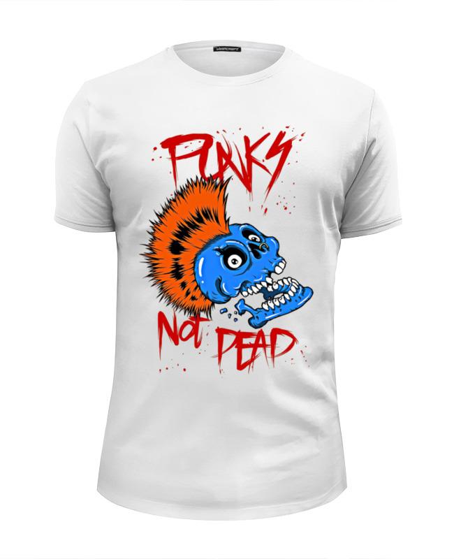 Футболка Wearcraft Premium Slim Fit Printio Punks not dead original monstr high love s not dead ghoulia yelps