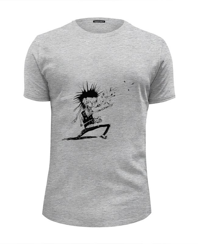 Футболка Wearcraft Premium Slim Fit Printio Панк зомби футболка wearcraft premium printio панк рок кафе
