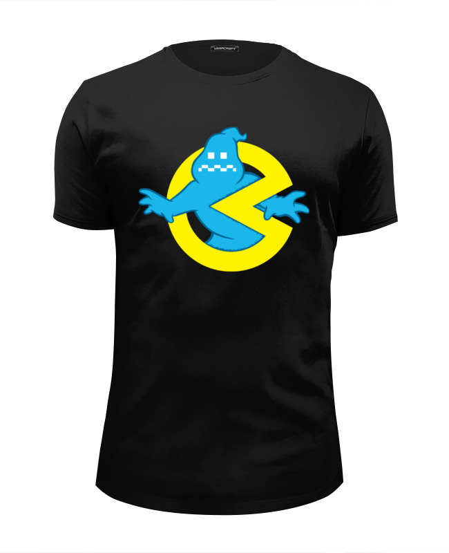 Футболка Wearcraft Premium Slim Fit Printio Ghostbusters x pac man футболка wearcraft premium slim fit printio pac man