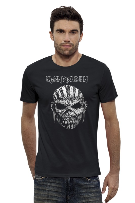 Футболка Wearcraft Premium Slim Fit Printio Iron maiden!!! футболка для беременных printio iron maiden