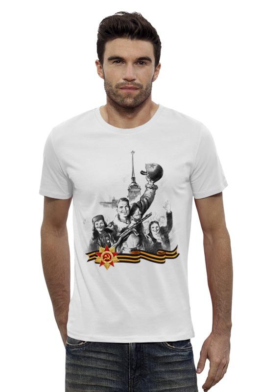 Футболка Wearcraft Premium Slim Fit Printio Боец и радостные дети футболка wearcraft premium slim fit printio неизвестный солдат