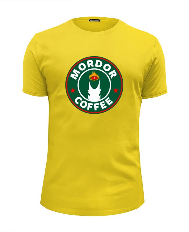 Футболка Wearcraft Premium Slim Fit Printio Mordor coffee футболка wearcraft premium slim fit printio drink coffee