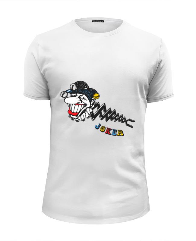 Футболка Wearcraft Premium Slim Fit Printio Джокер футболка wearcraft premium printio голова кролика