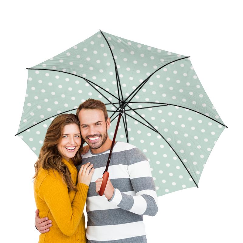 Зонт-трость двусторонний с деревянной ручкой Printio Классический зонт трость с деревянной ручкой printio горошек