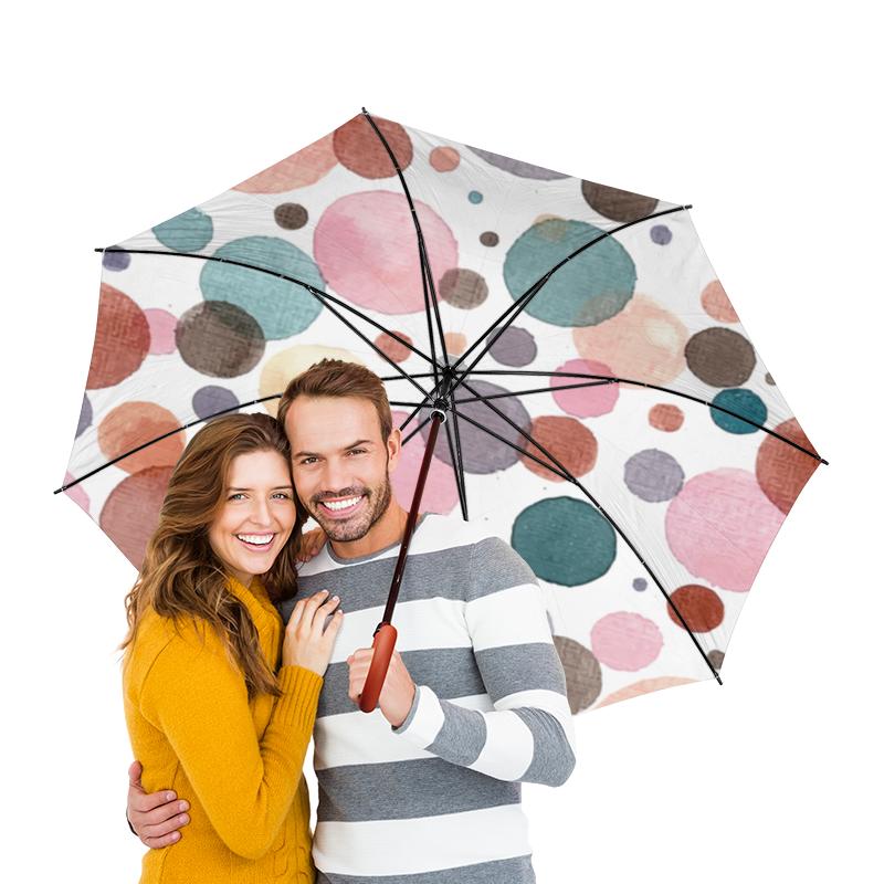 Зонт-трость двусторонний с деревянной ручкой Printio Акварельный зонт трость двусторонний с деревянной ручкой printio акварельный