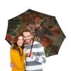 """Зонт-трость двусторонний с деревянной ручкой """"Цветы (Ян ван Хёйсум)"""" - картина, живопись, ян ван хёйсум"""