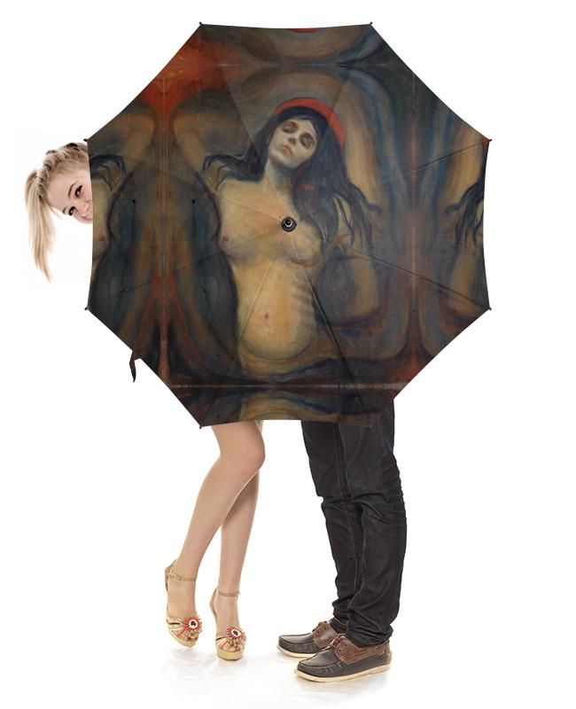 Зонт-трость с деревянной ручкой Printio Мадонна (картина мунка) серова м мадонна с калашниковым