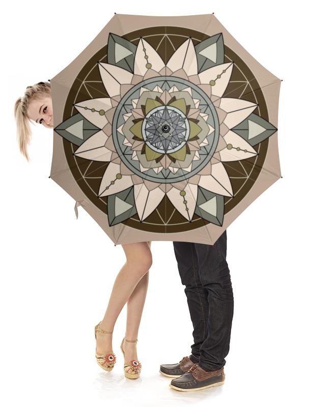 Зонт-трость с деревянной ручкой Printio Зонт-трость мандала кофе с молоком зонт трость eleganzza зонт трость