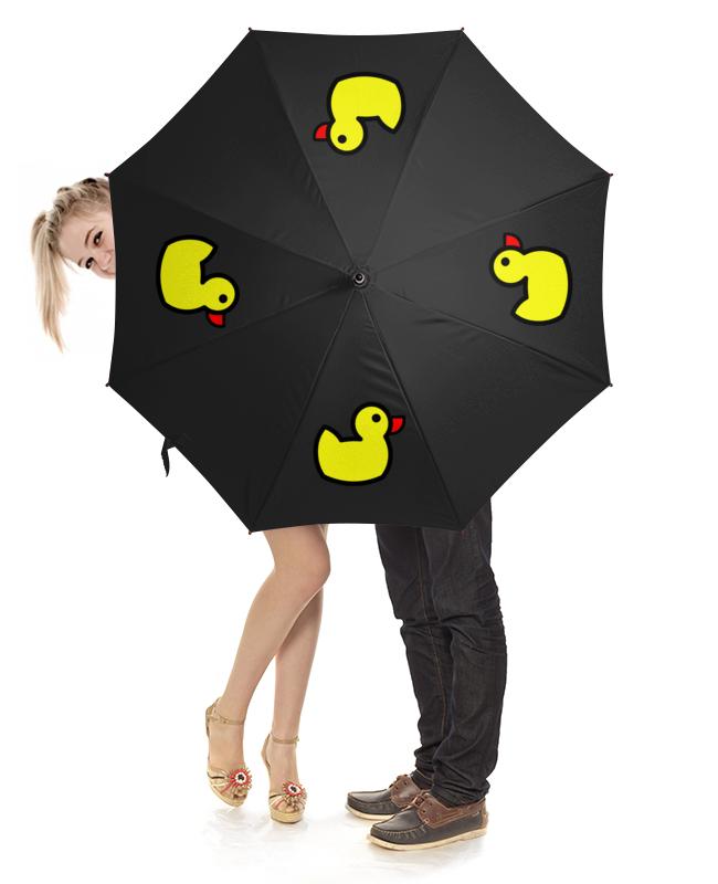 Зонт-трость с деревянной ручкой Printio антикоррупционный зонт с уточкой (чёрный) sr зонт трость для девочки hx1306 чёрный sr