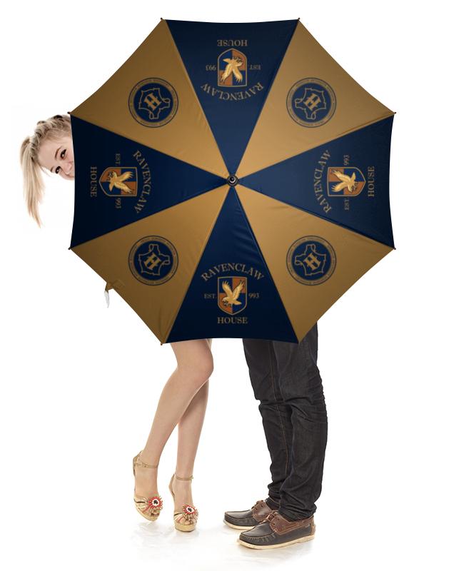 Зонт-трость с деревянной ручкой Printio Когтевран зонт трость с деревянной ручкой printio bdbd 12