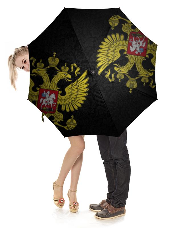 Зонт-трость с деревянной ручкой Printio Россия зонт eleganzza зонт