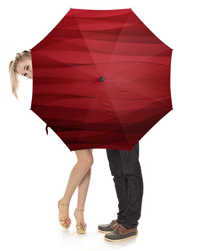 Зонт-трость с деревянной ручкой Printio Красная абстракция националь чечевица красная 450 г