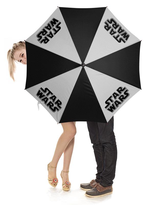 Зонт-трость с деревянной ручкой Printio Star wars design зонт трость с деревянной ручкой printio aliens design