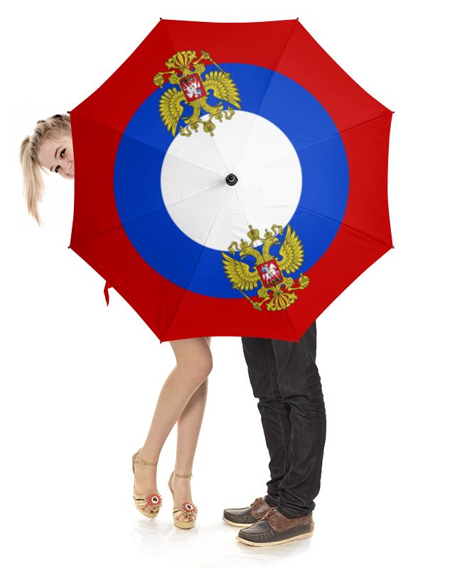 Зонт-трость с деревянной ручкой Printio Флаг россии зонт трость с деревянной ручкой printio зонт трость ассирийский флаг