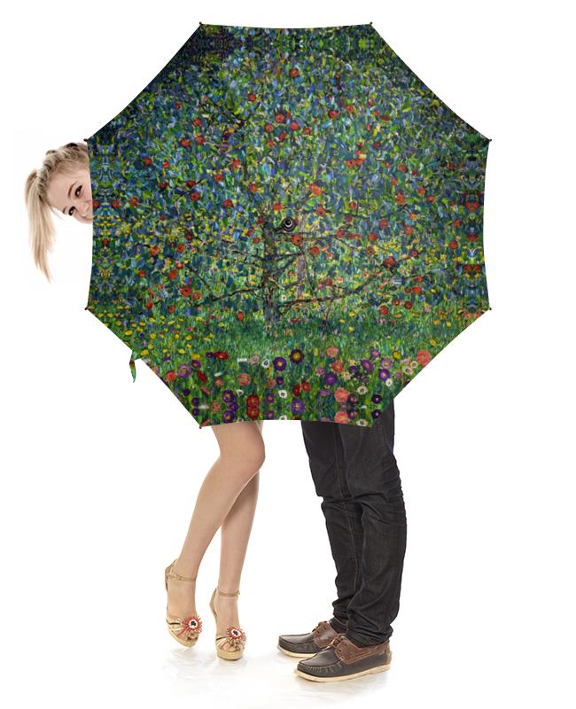 Зонт-трость с деревянной ручкой Printio Яблоня i (густав климт) торт printio яблоня