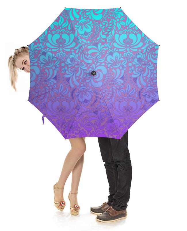 Зонт-трость с деревянной ручкой Printio Мираж
