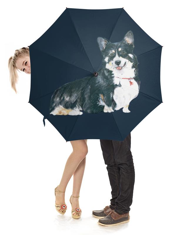 Зонт-трость с деревянной ручкой Printio Моя любимая собака clever моя любимая еда л фадеев