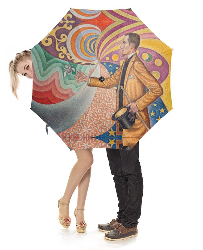 Зонт-трость с деревянной ручкой Printio Портрет феликса фенеона (поль синьяк)