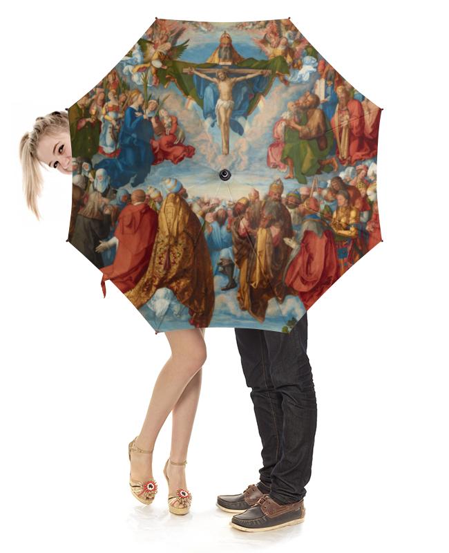 Зонт-трость с деревянной ручкой Printio Поклонение святой троице (альбрехт дюрер) альбрехт дюрер портреты