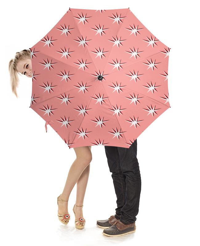 Зонт-трость с деревянной ручкой Printio Абстракция зонт eleganzza зонт