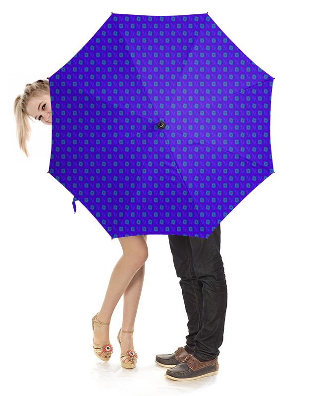 Зонт-трость с деревянной ручкой Printio Васильки зонт трость с деревянной ручкой printio зонт трость мозаика