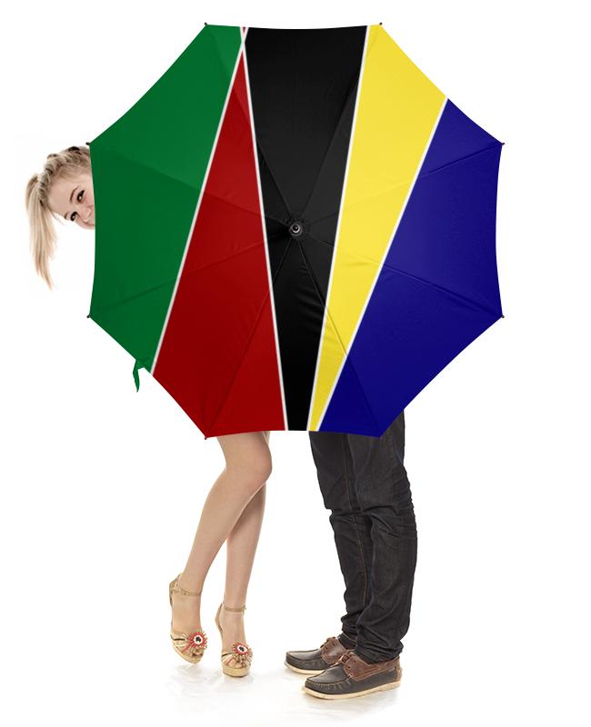 Зонт-трость с деревянной ручкой Printio Геометрическая абстракция портмоне cerruti 1881 cerruti 1881 ce899bmjcj32