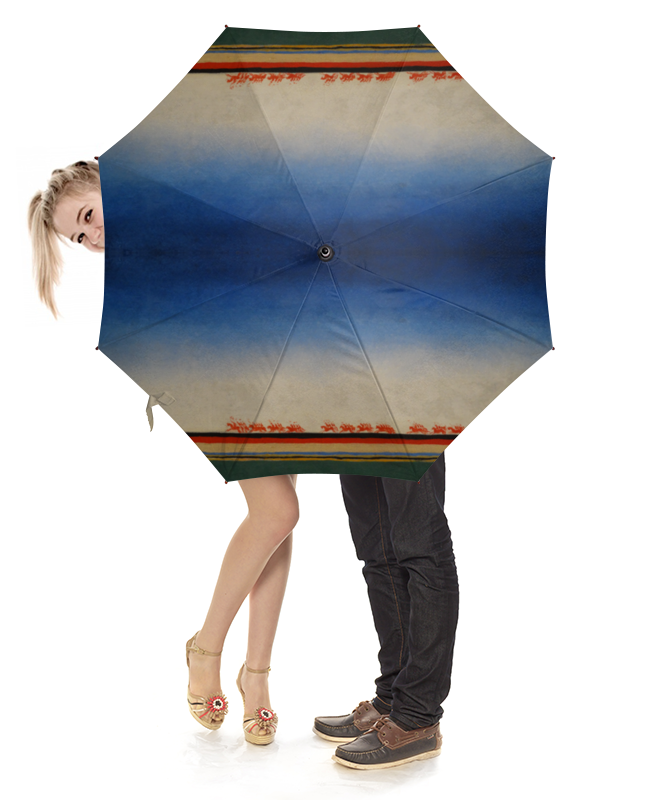 Зонт-трость с деревянной ручкой Printio Скачет красная конница (казимир малевич) зонт трость с деревянной ручкой printio казимир малевич автопортрет