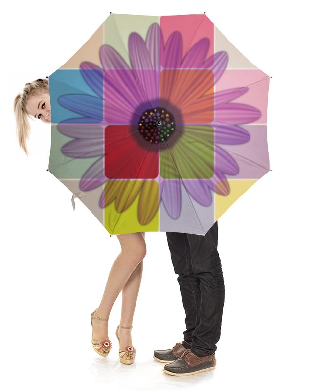 Зонт-трость с деревянной ручкой Printio Цветочный зонт трость с деревянной ручкой printio цветочный бум