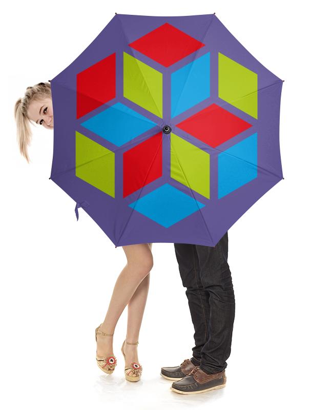 Зонт-трость с деревянной ручкой Printio Зонт трость зонт трость с деревянной ручкой printio внутренности