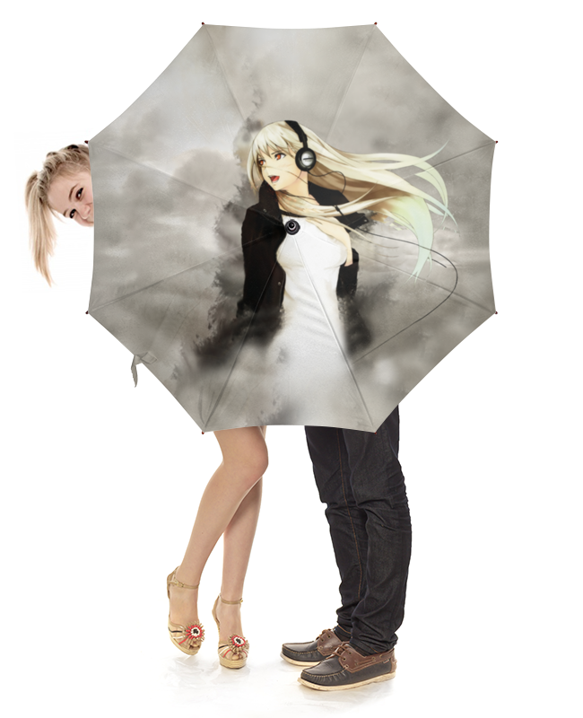 Зонт-трость с деревянной ручкой Printio Музыка в моей голове сергей куклев в голове моей опилки