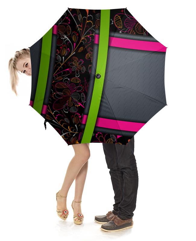 Зонт-трость с деревянной ручкой Printio Абстракция зонт трость с деревянной ручкой printio закат в ялте айвазовский