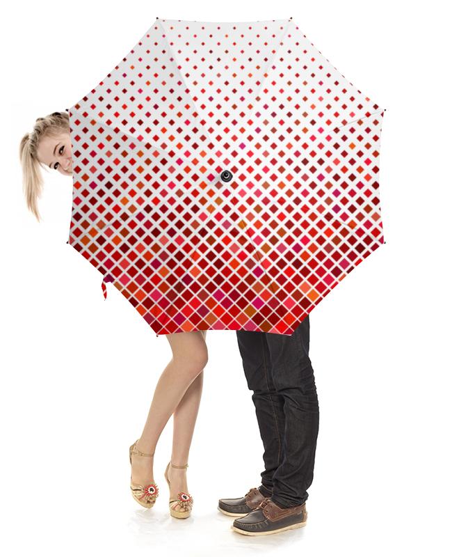 Зонт-трость с деревянной ручкой Printio Мозаика зонт трость с деревянной ручкой printio зонт трость мозаика