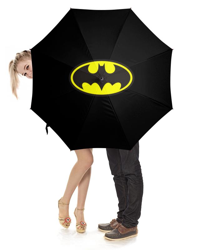 Зонт-трость с деревянной ручкой Printio Бэтмен зонт трость с деревянной ручкой printio супермен