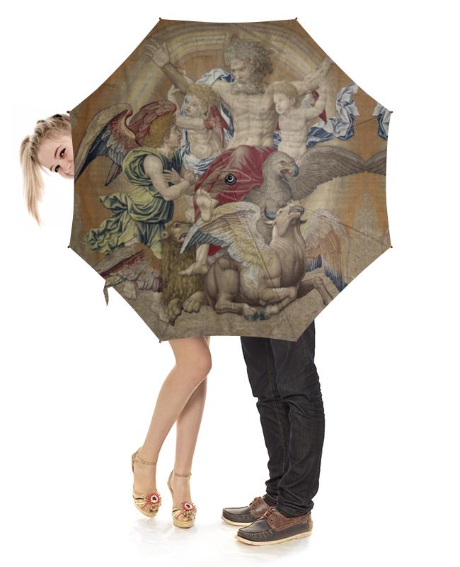 Зонт-трость с деревянной ручкой Printio Святая троица (питер кук ван альст) вилинбахова т святая живоначальная троица с деяниями