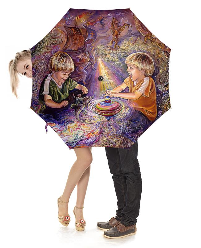 Зонт-трость с деревянной ручкой Printio Fantasy design зонт трость с деревянной ручкой printio aliens design