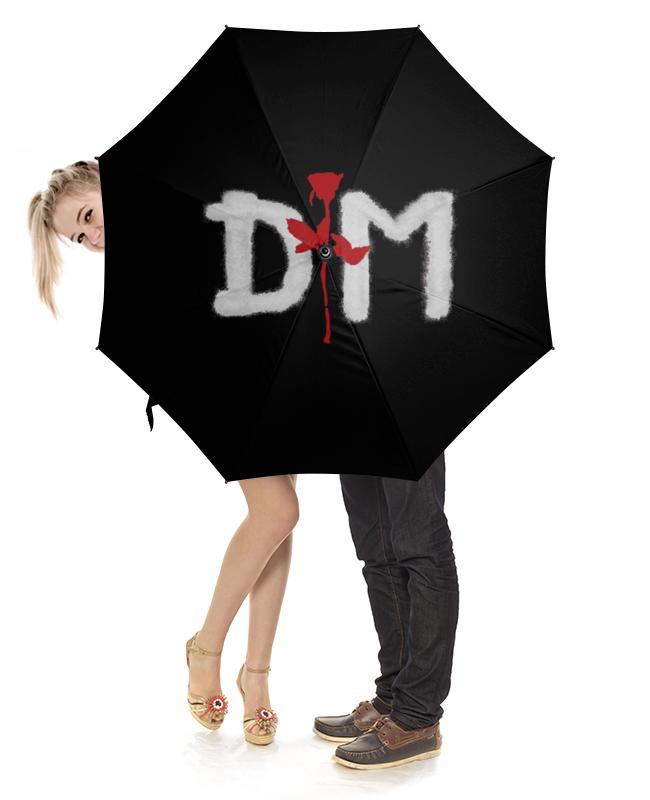 Зонт-трость с деревянной ручкой Printio Depeche mode зонт трость с деревянной ручкой printio depeche mode